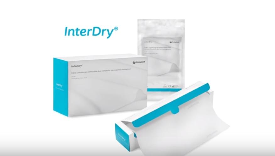 InterDry® er et 3-i-1-produkt til behandling i hudfolder