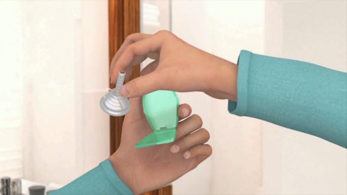 Sådan anvendes Conveen® Optima uridom