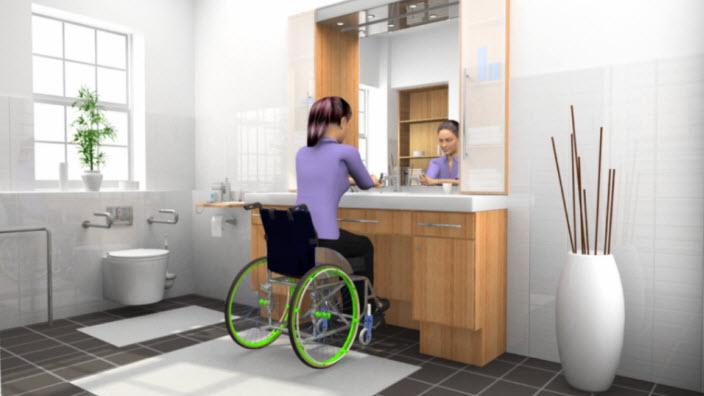 Kvinder i kørestol